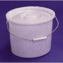 Essential 10 Quart Commode Pail with Lid