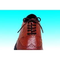 "Essential Everyday Essentials Elastic Shoelace 32"" Brown - 3 Pair"