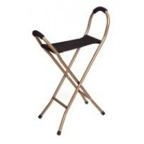 Essential Endurance Folding Seat Cane - 4 Legged