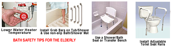 Charmant Bath Safety Tips For The Elderly