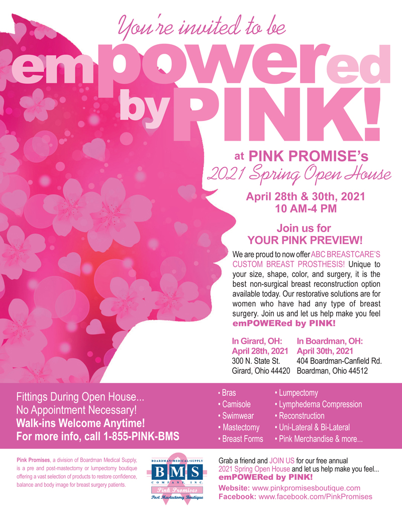 Pink Promises March Flyer