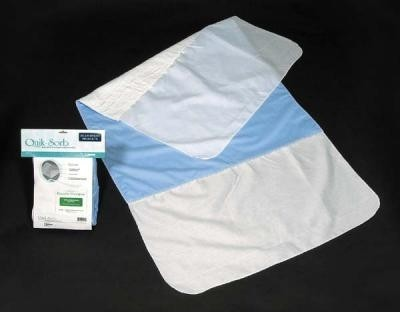 """Essential QuikSorb 34"""" x 36"""" Deluxe Underpad with Tucks"""