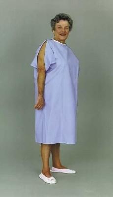 Essential IV Gown - Blue