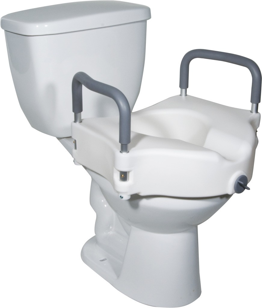 Drive 2-in-1 Locking Raised Toilet Seat RTL12027RA