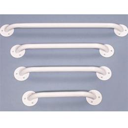 Essentials White Enamel Grab Bars B3212