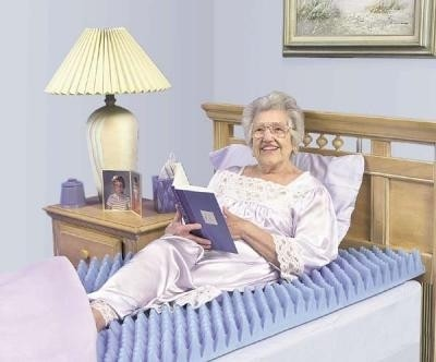 """Essential 3"""" Convoluted Hospital Bed Pad"""