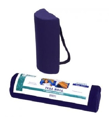 "Essential Full Lumbar Cushion with Strap - 4"" x 12"""