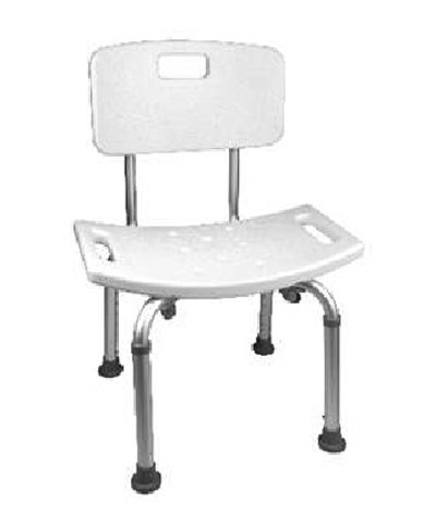 ProBasics Shower Chair 250 Lb Capacity - #BSCWB