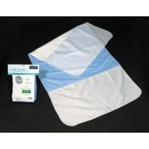 "Essential QuikSorb 34"" x 36"" Deluxe Underpad with Tucks"