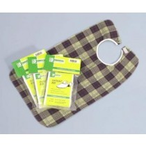 "Essential Deluxe Bib - Plaid 18"" x 30"""