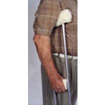 Essential Sheepette Crutch Covers - Arm & Grip