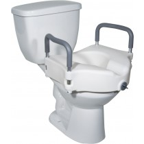 Drive 2-in-1 Locking Raised Toilet Seat RTL12027RA