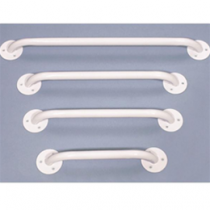 Essentials White Enamel Grab Bars B3212