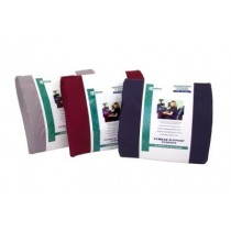 Essential Lumbar Cushion with Strap - Burgundy