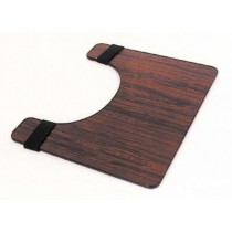Essential Deluxe Wheelchair Tray - Rosewood