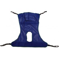 """Invacare Slings Mesh w/Commode Opening Large 60.5""""x45.5"""" 450 lb Capacity R115"""