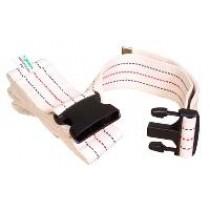 "Essential Essential Standard Gait Belt 54"" Plastic Buckle"