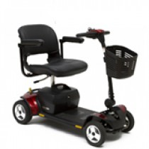 Pride Go-Go Elite Traveller Plus 4-Wheel Scooter #SC53