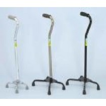 Essential Large Base Quad Cane - Bronze